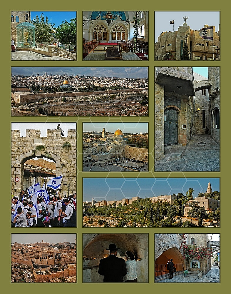 Jerusalem Photo Collages 024
