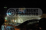 Kotel View At Night 003