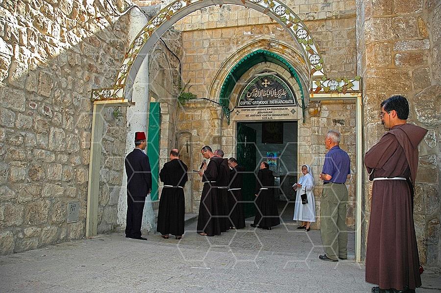 Jerusalem Via Dolorosa Station 9 - 001