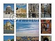 Jerusalem Photo Collages 021