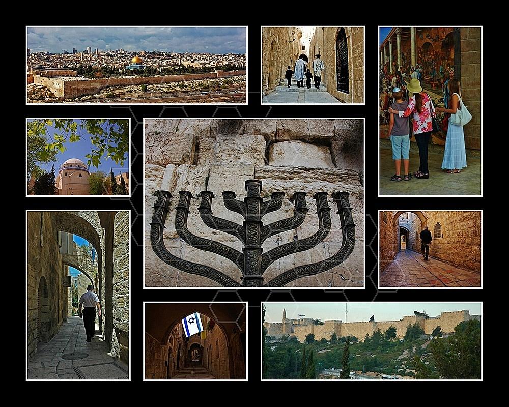 Jerusalem Photo Collages 032