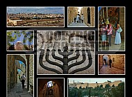 Jerusalem Photo Collages 032