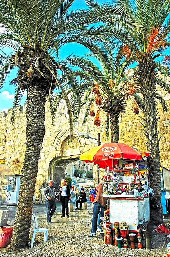 Jerusalem Old City Dung Gate 009