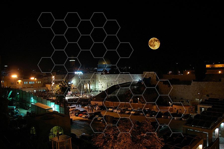 Kotel View At Night 004