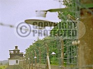Buchenwald Barbed Wire Fence and Watchtower 0002