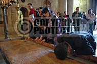 Jerusalem Holy Sepulchre Stone Of Anointing 025