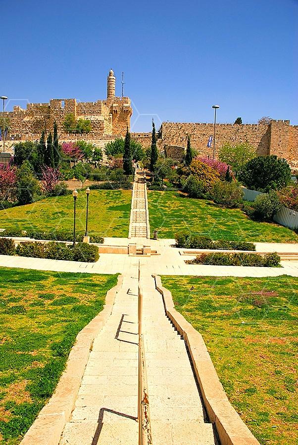 Jerusalem Old City David Tower 028