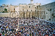 Kotel Priestly Blessing Birkat Kohanim 0003