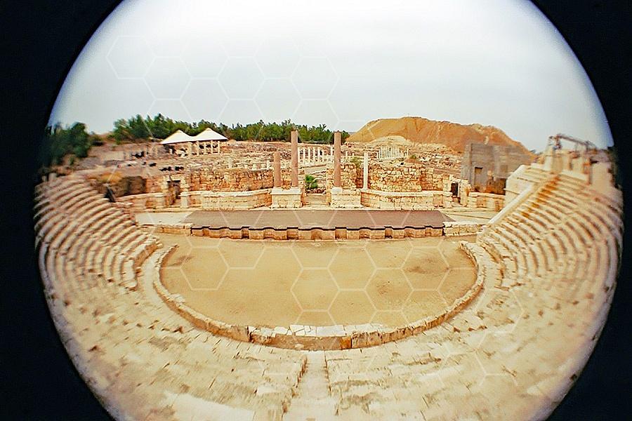 Beit She'an Amphitheater 001