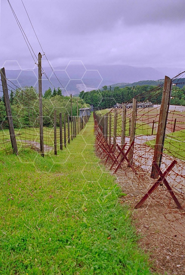 Natzweiler-Struthof Barbed Wire Fences 0001