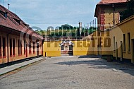 Terezin Courtyard and Entrance Gate 0001
