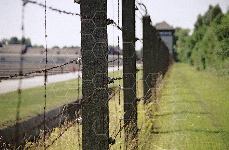 Dachau Barbed Wire Fence 0008
