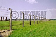 Birkenau Camp Barracks 0021