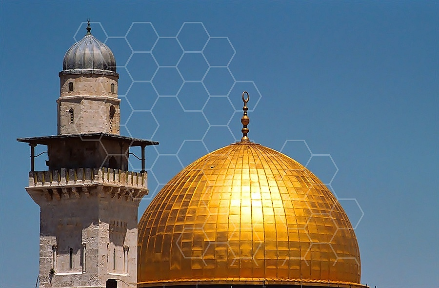 Jerusalem Old City Dome Of The Rock 016