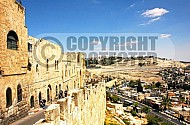 Jerusalem Old City  Walls 013