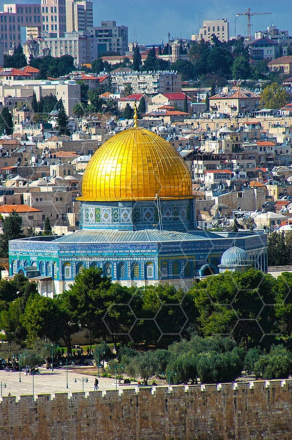 Jerusalem Old City Dome Of The Rock 002