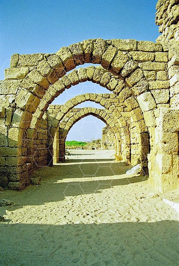 Caesarea Roman Arches 008