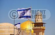 Israel Flag 056