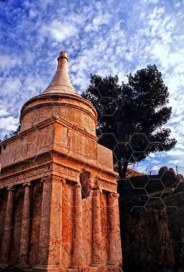 Jerusalem Absalom Tomb 007