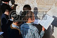 Kotel Children Praying 001
