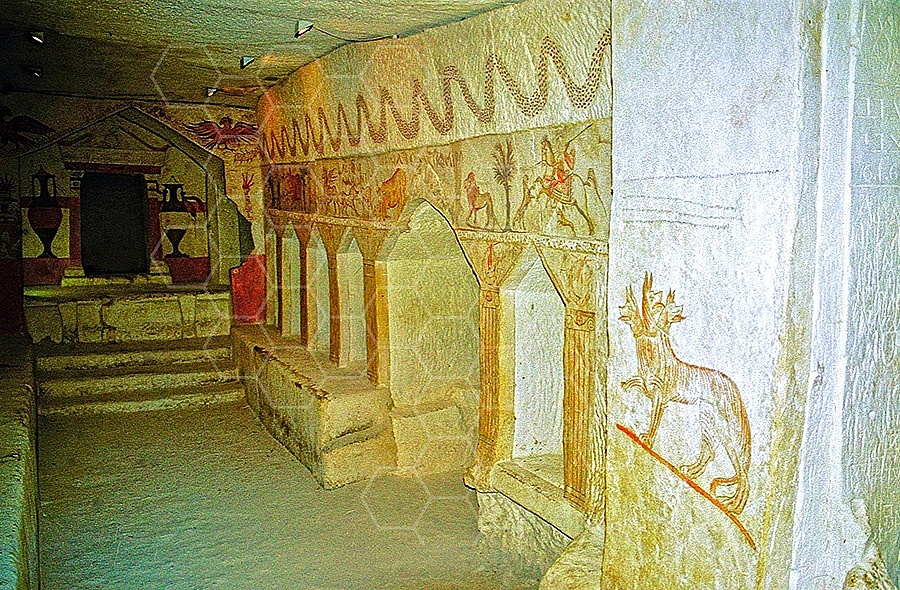 Beit Guvrin Sidonian Burial Caves 005