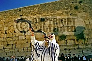 Kotel Blowing The Shofar 0007