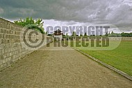 Sachsenhausen Camp Wall and Watchtower 0004