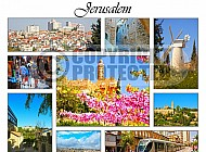 Jerusalem Photo Collages 001