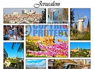 Jerusalem Photo Collages 001