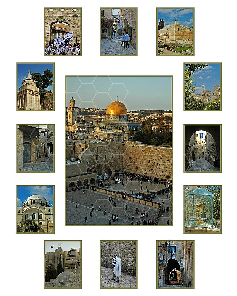 Jerusalem Photo Collages 026