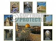 Jerusalem Photo Collages 026