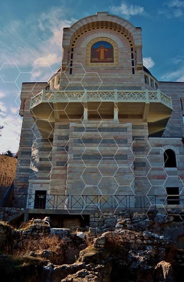 Jerusalem St Peter in Gallicanto 0011