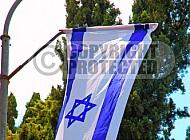 Israel Flag 069