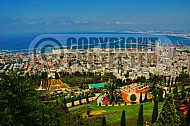 Haifa Baha I Gardens and Sea Port 0001