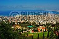 Haifa Baha I Gardens and Sea Port 0001