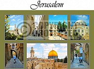 Jerusalem Photo Collages 014