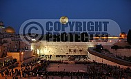 Kotel View At Night 006
