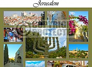 Jerusalem Photo Collages 007