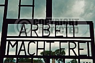 Sachsenhausen Close Up of Entrance Gate 0001