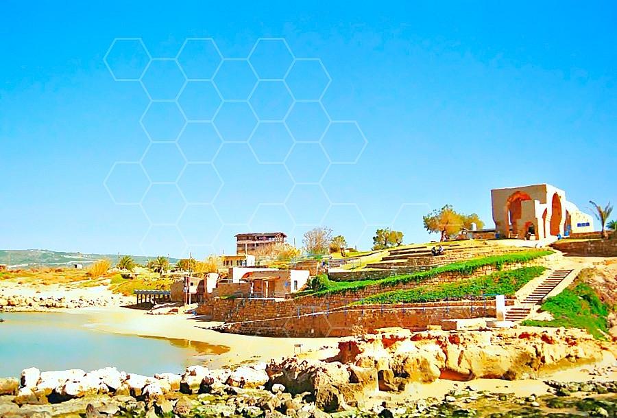 Achziv Ancient Port 001