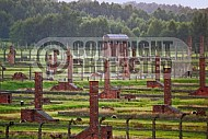 Birkenau Camp Barracks 0030