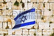 Israel Flag 018