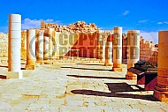 Avdat The Nabatean Temple 006
