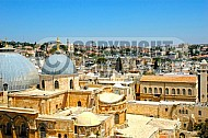 Jerusalem Holy Sepulchre View 006