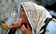 Kotel Blowing The Shofarf 020