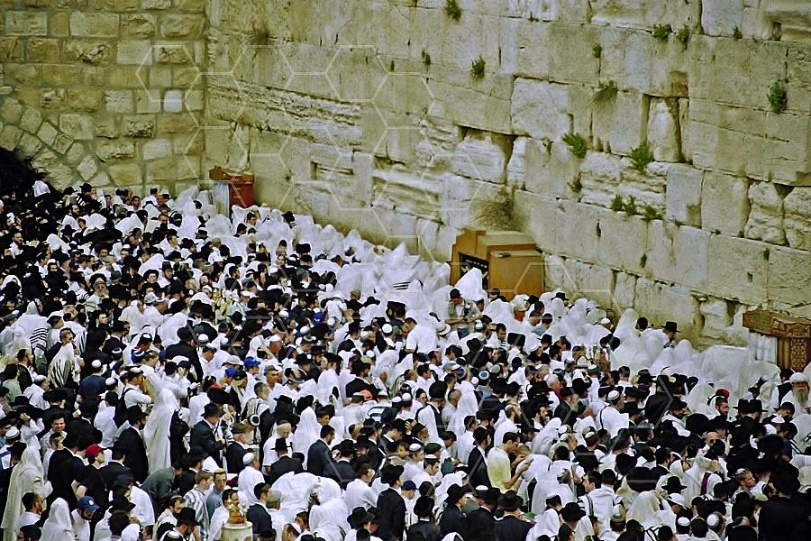 Kotel Priestly Blessing Birkat Kohanim 0013