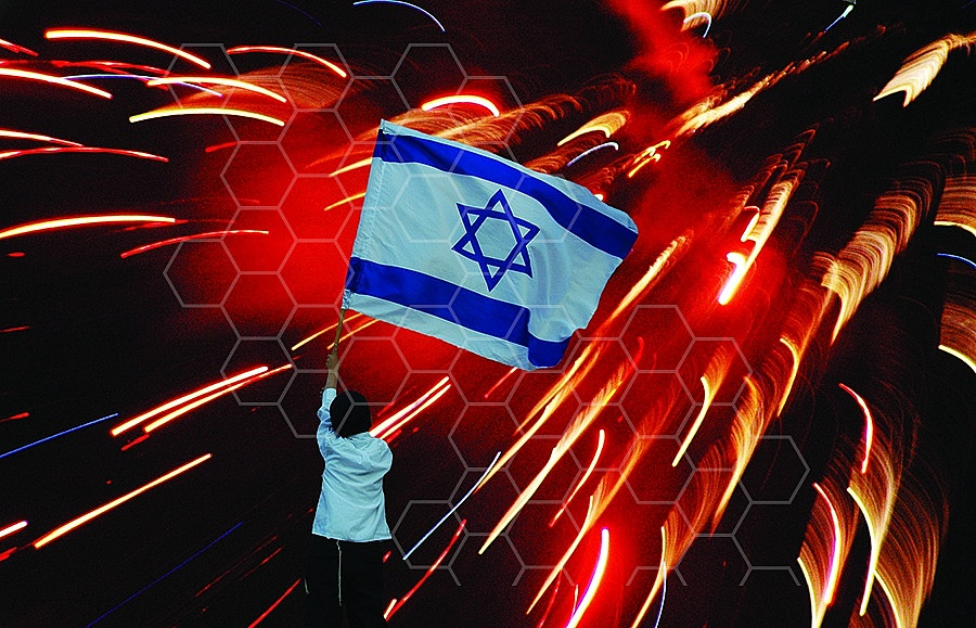 Israel Flag 035