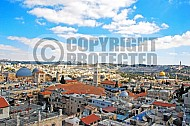Jerusalem Old City View 006