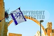 Israel Flag 037