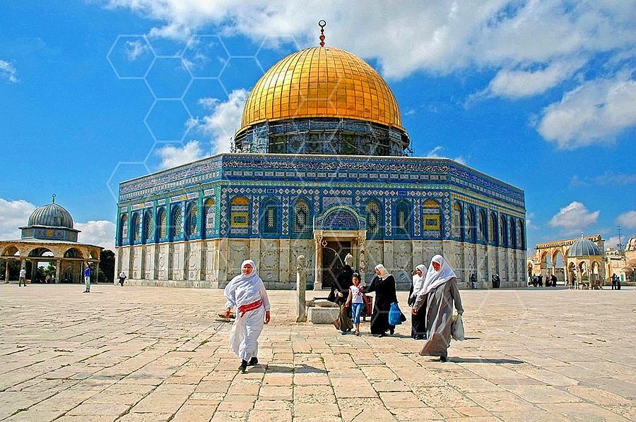 Jerusalem Old City Dome Of The Rock 011